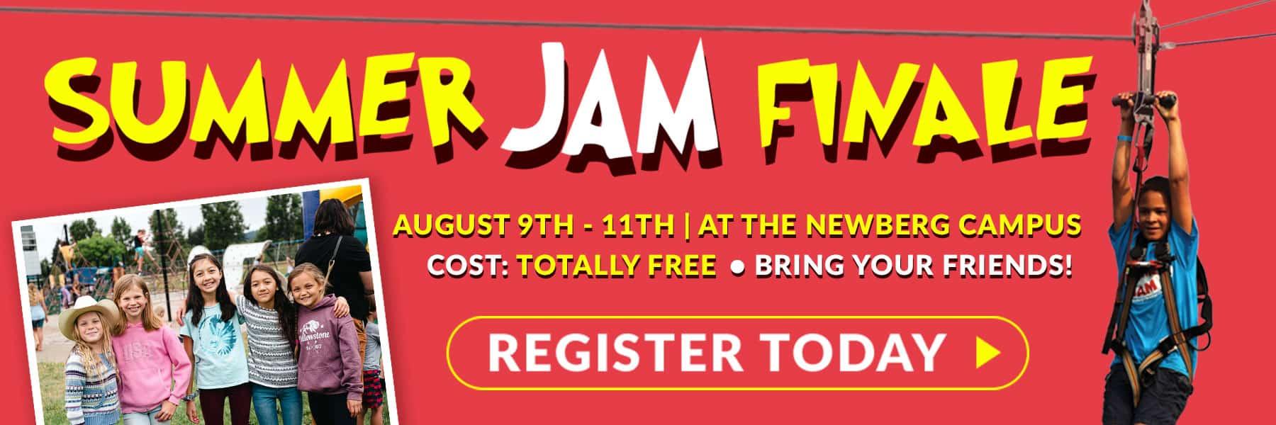 Summer Jam Finale - Registration