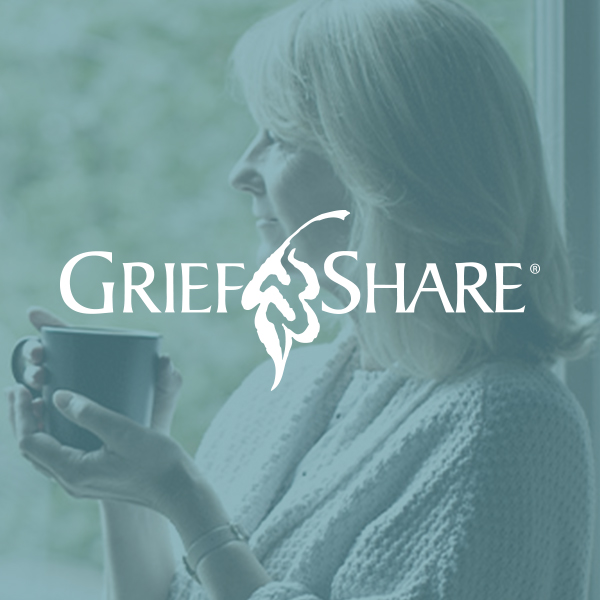 Grief Share Ministry - Help with carrying the burdens of grief when losing a loved one