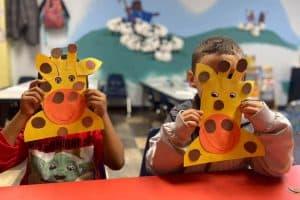 Giraffe Masks Day