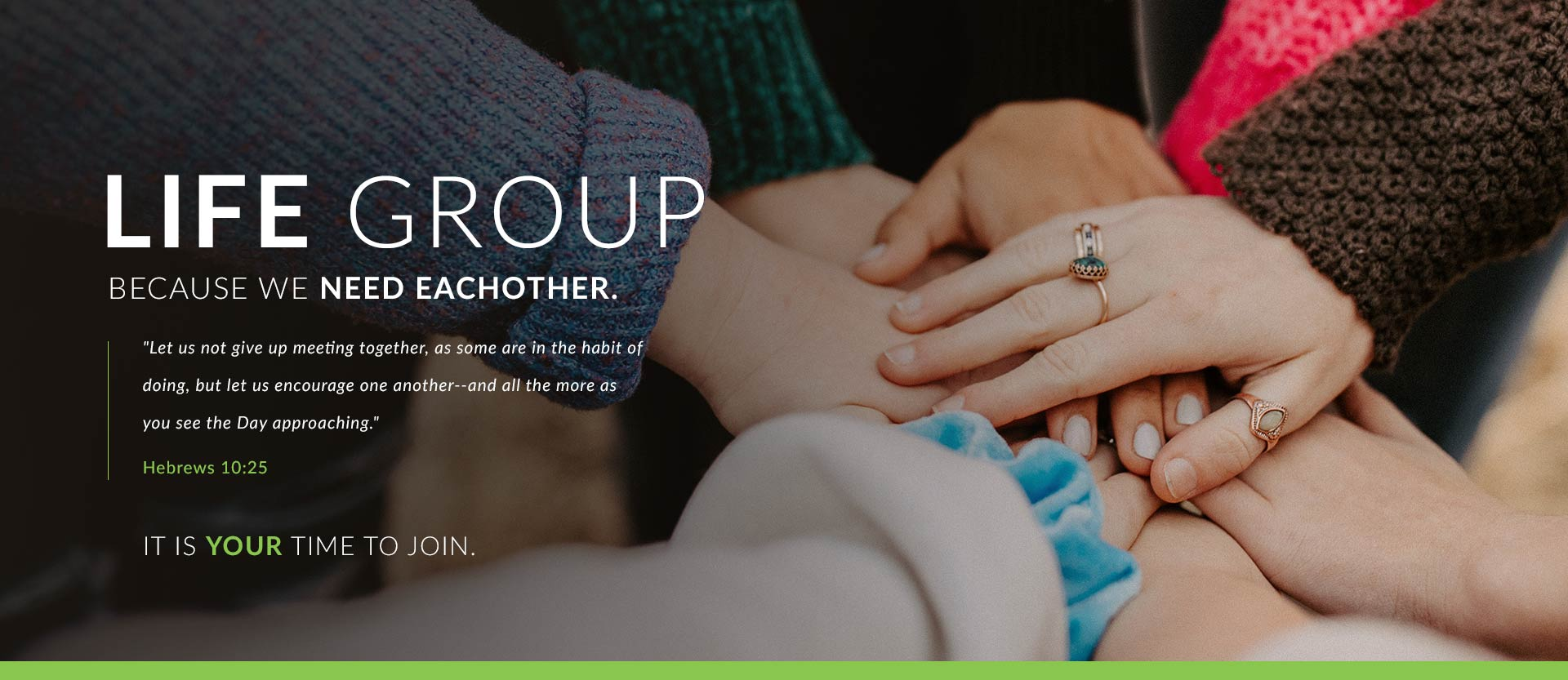 Join a Life Group - Building Community - NCC